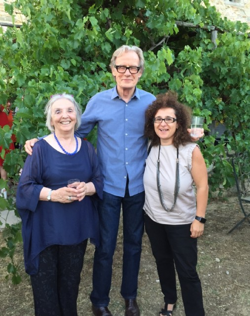 Clara, Bill Nighy e Raffaella Spizzichino