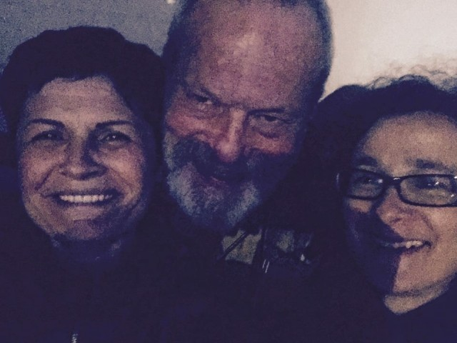 Maya Reggi, Terry Gilliam, Raffaella Spizzichino