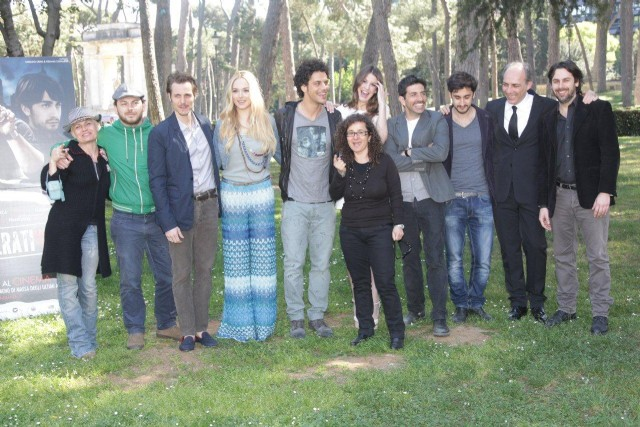 con il cast di POKER GENERATION